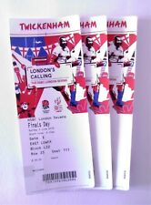 Twickenham Rugby Memorabilia - HSBC London Sevens Finals Day 03/06/18 Tickets