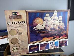 Rare Revell Museum Classic 1/96 H393 Cutty Sark Large Box Vintage Model Ship Kit