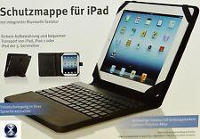 Schutzmappe/Tasche/Hülle/für iPad,iPad 2/iPad 3/Bluetooth Tastatur/schwarz