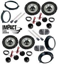 IMPACT Set 8 arcas Para FIAT PANDA 03>12 con adaptadores Y SOPORTES