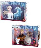 50 Piece Disney Frozen II Jigsaw Puzzles Choice of 2 Childrens Design Elsa Olaf