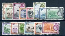 Tristan Da Cunha 1954 defin set fine mint 1d MH others MNH