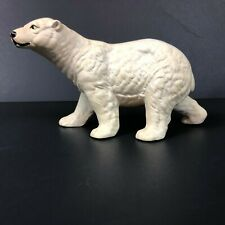 UCTCI Vintage Polar Bear Figurine 3.5 Detailed Hand Painted Shaded Made in Japan