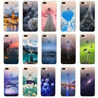 Shockproof Ultra-thin Silicone Rubber Case TPU Cover For iPhone 5 SE 6s 7 8 Plus