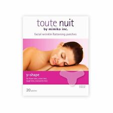 Toute Nuit Facial Wrinkle Flattening Patches, Y-Shape - Preventing Frown Line.