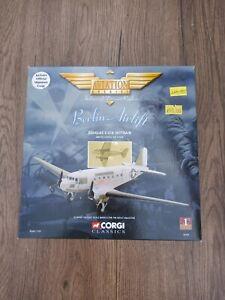 CORGI 1:144 SCALE 47101 BERLIN AIRLIFT DOUGLAS C-47A SKYTRAIN DIECAST MODEL