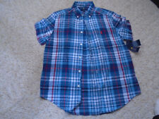 New Ralph Lauren, Youth Boy'S Button Down Shirt, In Size L (14-16)