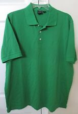 Hugo Boss Golf Mens Polo Knit Shirt Large/XL Green EUC