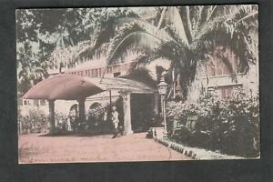 post card King's House Home Of Governor Kingston Jamaica/VT to Colton NY 1909