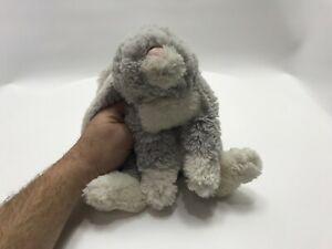"Jellycat Plush 12"" Grey Soft Bunny Rabbit Easter"