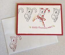 Koala Australia Christmas handmade card - Stampin up