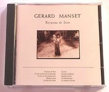 CD ALBUM / GERARD MANSET - ROYAUME DE SIAM / ANNEE 1988 .