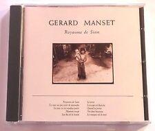 CD ALBUM / GERARD MANSET - ROYAUME DE SIAM / ANNEE 1988 .