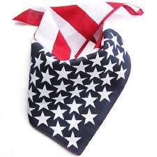 Hot Women Men American Stars And Stripes USA Flag Bandana Unisex Hair Band