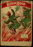 Robin Hood Magazine 24 U.K. Issue Collection Post WWI On Disc