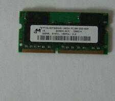 Memoria RAM 256mb LIFEBOOK s-4546, s-4572, b-2175