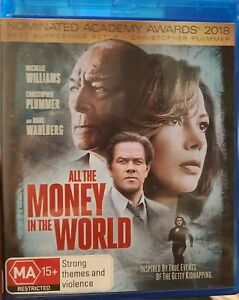 All the Money in the World (Blu-ray, 2018) 🇦🇺 Region B