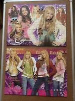 Ravensburger Jigsaw Puzzle Disney Hannah Montana 100 & 200 Pcs Not complete!