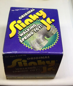 New Original Slinky Jr. Walking Spring Toy Ages 5 & Up Brand New!