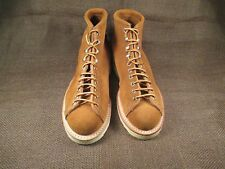 NEW NOS Vintage Modern Work Suede Leather Monkey Boots size 5 C made in USA