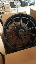 Rota wheels T2R 18x9.5 (5x112 + 42mm 57.1 Hub Bore) Flat Black 4 Wheels NEW
