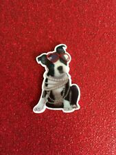 5pc Boston Terrier Puppy Princess, Planar Resin Flatback, bow center, cabochon