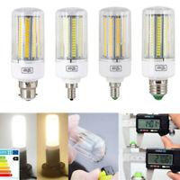5 pcs E27 LED Corn Bulb E14 E12 B22 5730 SMD Light Lamp Incandescent 20W - 160W