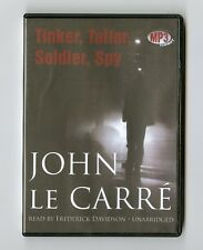 Tinker, Tailor, Soldier, Spy - by John le Carre - Unabridged Audiobook - MP3CD