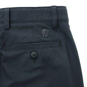 FootJoy FJ Mens golf pants Size 33x30 Flat Front Casual black