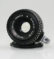 EXA / EXAKTA Fit Meyer-Optik Gorlitz Domiplan ZEBRA f2.8/50mm Lens (MZ43)