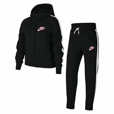 Nike Girls Tracksuit Top Bottoms Pants Jumper Size 6-7,8-9,10-11,12-13 years