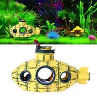 Aquarium Fish Tank Resin Submarine Ornament Cave Landscaping Decoration New Hot