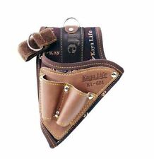 KAYA KL-601 TOOL Holsters Top Grain Cowhide Buckle Drill Leather Craft_nV