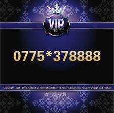 VIP GOLD PLATINUM DIAMOND LUCKY MOBILE NUMBER SIM CARD 077 5*37 8888