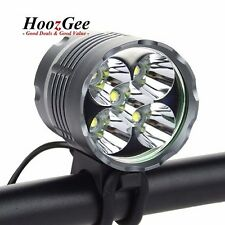6000lm CREE T6 LED MTB Bike Bicycle Cycling Front Light Headlamp 18650 Batteries