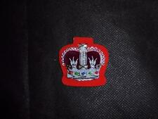 NEW British Army Wessex Yeomanry WO2 No 1 Dress Cloth / Bullion Crown