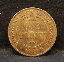 1920(s & y) Australia penny, George V, no dots, KM-23                       /N59
