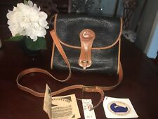 Vtg Dooney & Bourke All Weather Leather Large Essex Handbag Model R65 EUC w/Tags