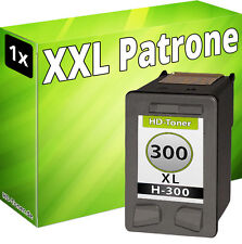 1x tinta cartuchos para HP 300 XL Deskjet f2492 f4210 f4224 f4272 f4280 f4580