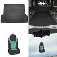 Black Trunk Cargo Mat Liner For Auto SUV Van Vinyl All Weather w/ Gift