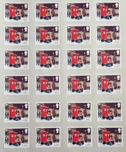 100 x 1st Class Large Letter stamps Self Adhesive /unfranked peel able - UK