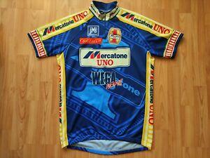 Mercatone Uno 1997 Tour de France Edition Team Jersey,Santini, Pantani Size:XL
