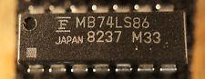 NOS Fujitsu MB74LS86  DIP14 Qty 1             Ships in USA Tomorrow!