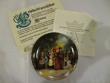 1984 Collector Plate Holiday Family Kappelmann Monday Detlev Nitschke
