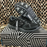 NEW HK Army SHREDDER Paintball Cleats - Black/Grey - Size 8.0 US