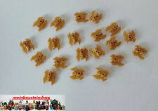 Lego® 20X Minifig Waffe Axt Twin Bladed Weapon Weapon Pearl Gold /11096 NEUWARE