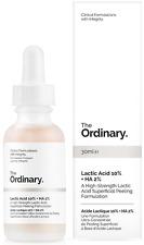 New In Box The Ordinary Lactic Acid 10% + HA 2%  30 mL