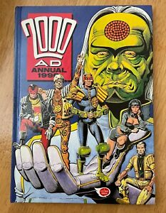 2000AD Annual 1990 Excellent condition