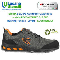 COFRA SCARPA ANTINFORTUNISTICA RECONVERTED S1P SRC Unisex Lavoro Scarpe OFFERTA