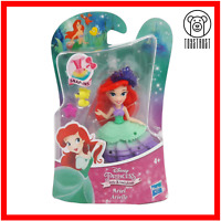 Ariel Mini Figure Disney Princess Little Kingdom Small Mermaid Toy Snap-In Doll